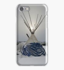 Winter Sun - Standing Rock iPhone Case/Skin