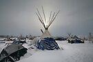 Winter Sun - Standing Rock by Michael Treloar