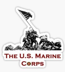Raising the Flag on Iwo Jima Sticker