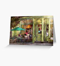 Cafe - Hoboken, NJ - Empire Coffee & Tea Greeting Card