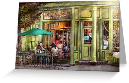 Cafe - Hoboken, NJ - Empire Coffee & Tea by Mike  Savad