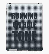 Running on Half Tone iPad Case/Skin