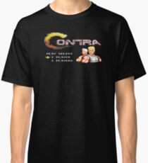 Contra - NES Trump Edition Classic T-Shirt