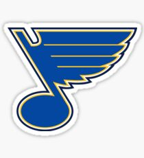 Blues Hockey Logo Sticker