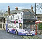 Horsforth Leeds Bus by Brian Hargreaves