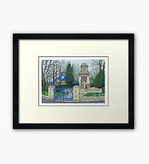 Horsforth Leeds Cenotaph Framed Print