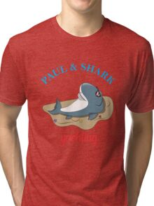 Paul & Shark Yachting - FUNNY FISHING Tri-blend T-Shirt