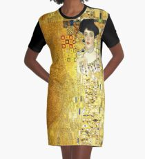 The Woman in Gold Graphic T-Shirt Dress