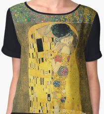 Gustav Klimt- The Kiss Women's Chiffon Top
