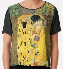 Gustav Klimt - Der Kuss Chiffontop