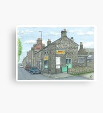 Horsforth Leeds Chinese Takeaway Canvas Print