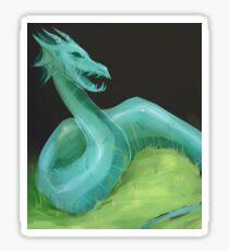 Jade Dragon Sticker