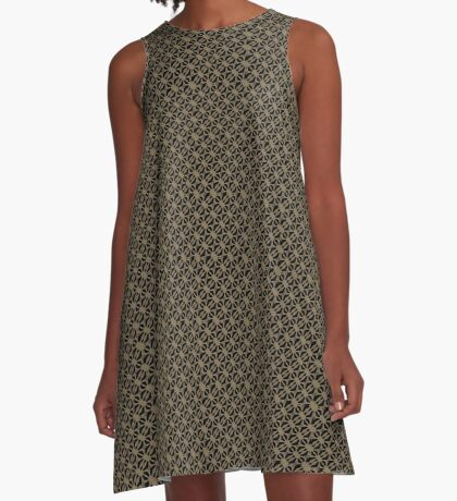 Pattern in Taupe by Julie Everhart A-Line Dress