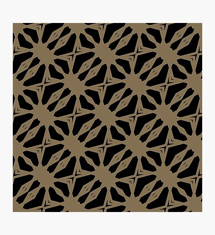 Pattern in Taupe by Julie Everhart Photographic Print