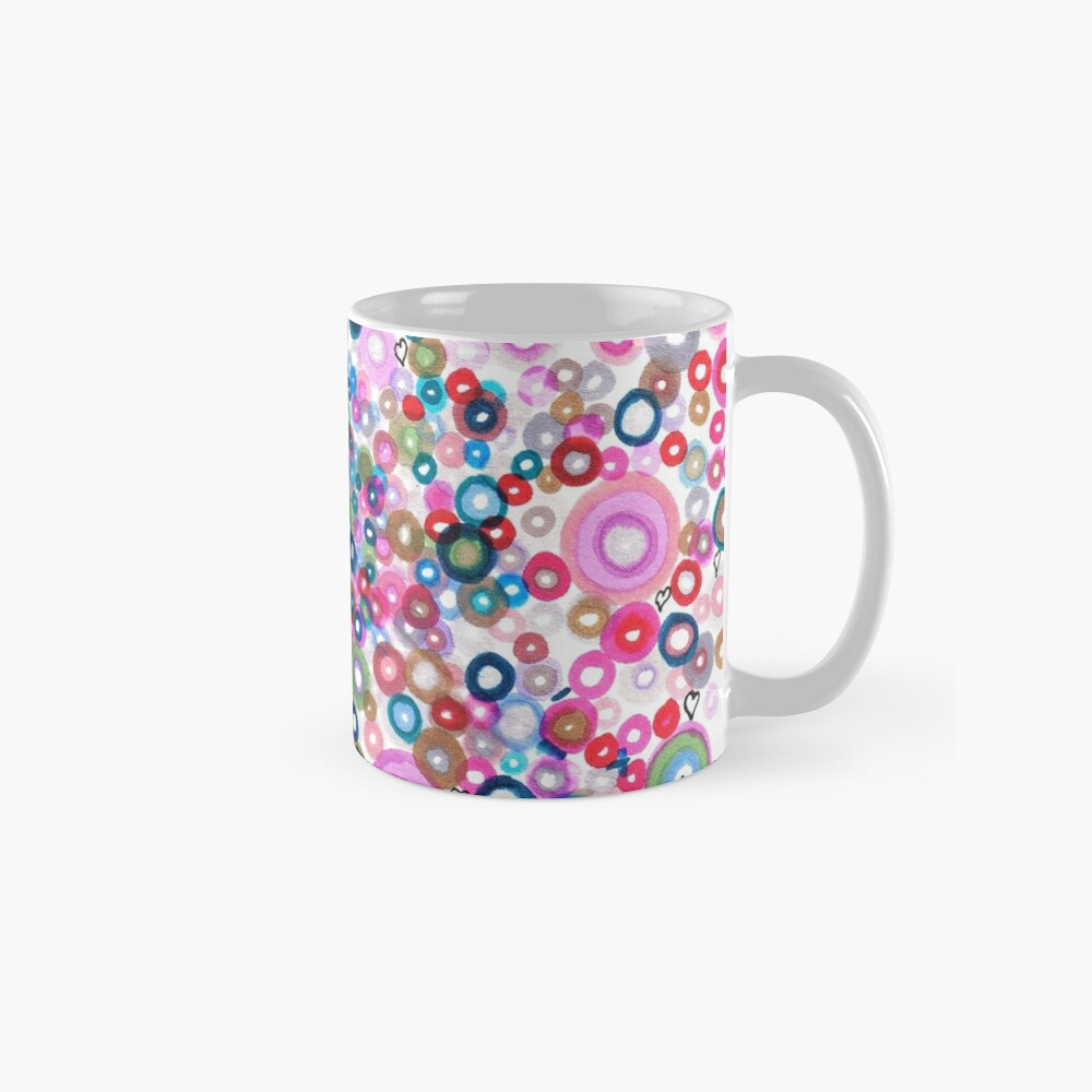 Abstract Pattern Valentine Mug