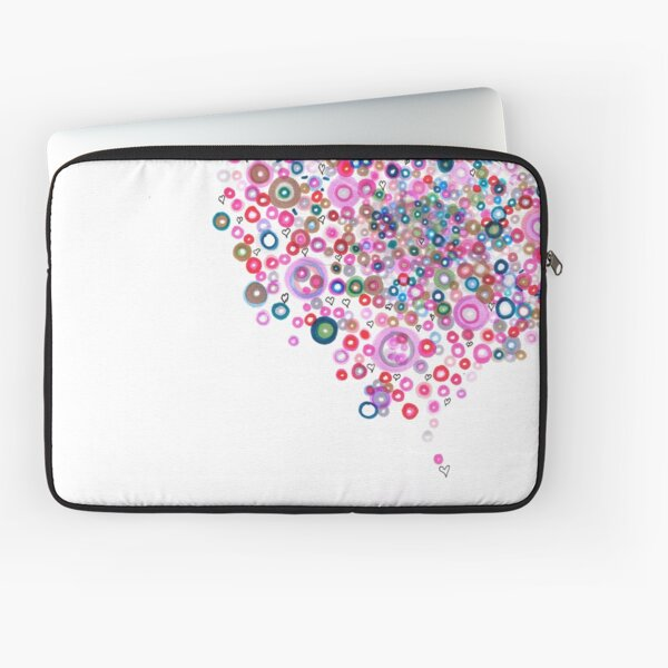 Abstract Pattern Valentine Laptop Sleeve