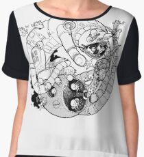 The Yin-Yang Robo Fight! Chiffon Top