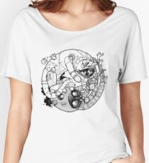 The Yin-Yang Robo Fight! Women's Relaxed Fit T-Shirt