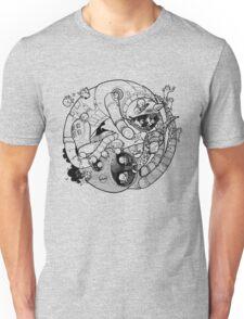 The Yin-Yang Robo Fight! Unisex T-Shirt