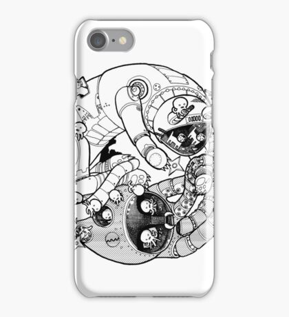 The Yin-Yang Robo Fight! iPhone Case/Skin