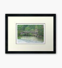 Horsforth Leeds Newlay Bridge Framed Print