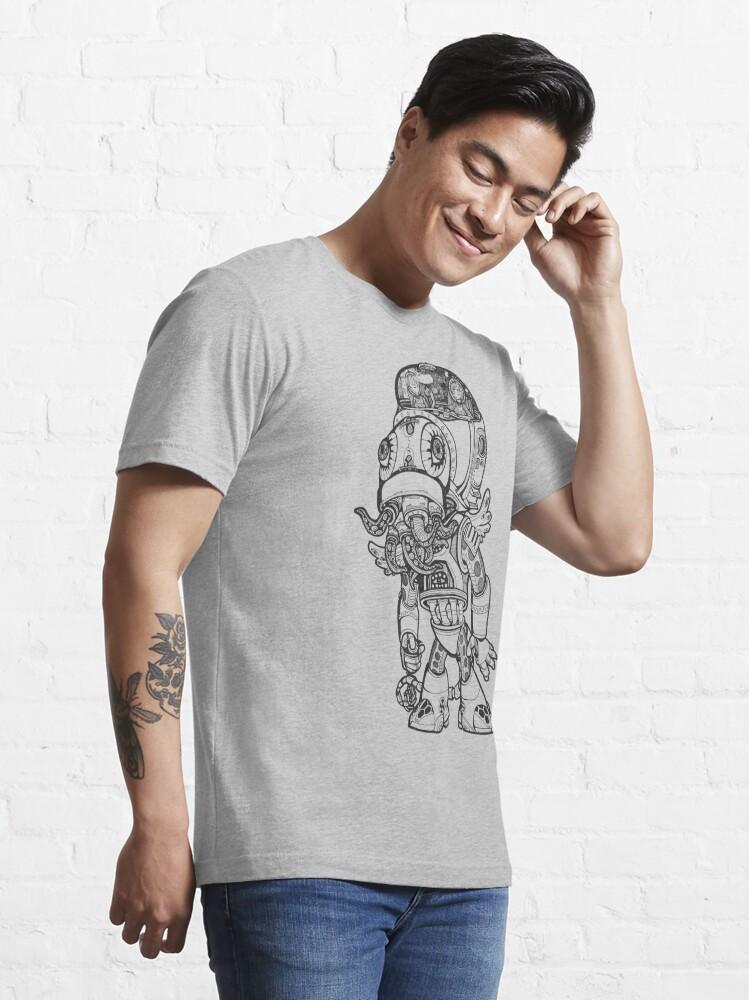 Alternate view of Cthulhu Tshirt Essential T-Shirt