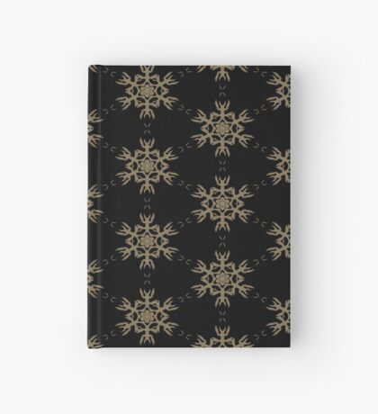 Black with Taupe Design by Julie Everhart Hardcover Journal