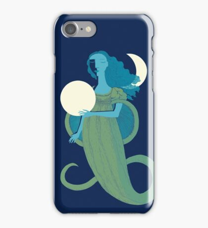 Moonlight Mermaid iPhone Case/Skin