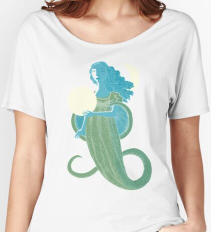 Moonlight Mermaid Women's Relaxed Fit T-Shirt