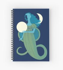 Moonlight Mermaid Spiral Notebook