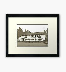 Horsforth Leeds Queen's Arms Framed Print