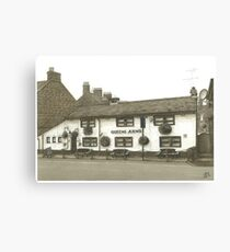 Horsforth Leeds Queen's Arms Canvas Print