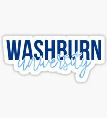 Washburn University - Style 13 Sticker