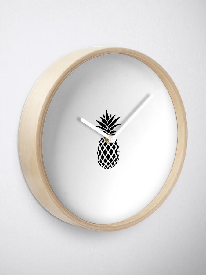 Alternative Ansicht von Ananas Uhr