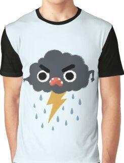 Grumpy Cloud Graphic T-Shirt