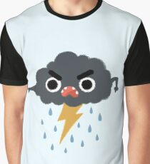 Grumpy Cloud Graphic T-Shirt