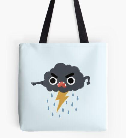 Grumpy Cloud Tote Bag