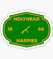 Green and Gold Team Badge Sticker