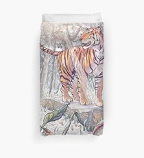 Spring Tigress Duvet Cover