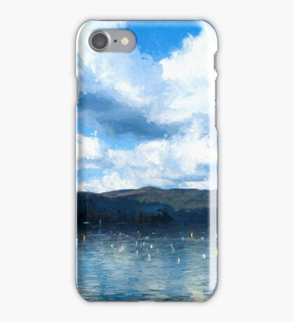 Lake Background iPhone Case/Skin