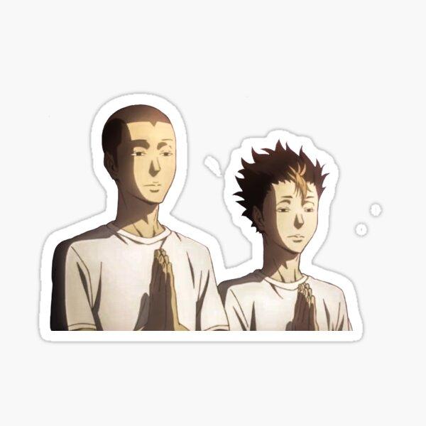 Tanaka y Noya Pegatina