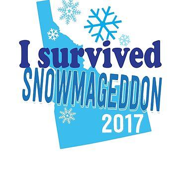 I Survived Idaho Snowmageddon 2017  by GrumpyDog