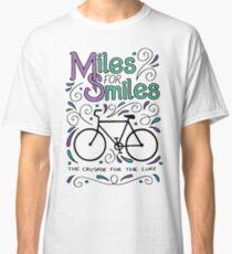 Miles for Smiles MS cycle team tshirt Classic T-Shirt