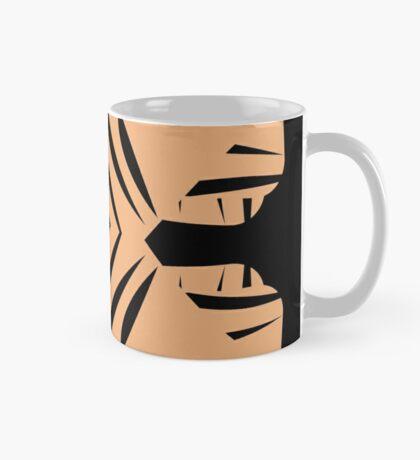 Peachy Tan with Black Stripes Mug