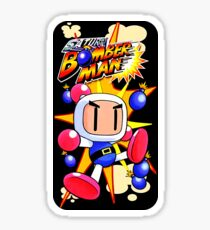 Saturn Bomberman Sticker