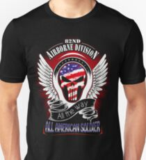 82nd Airborne Division All American All The Way T-Shirt