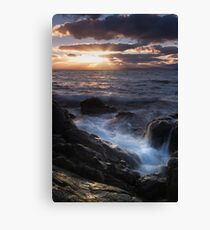 A Tranquil sunset in Primrose Sands Canvas Print