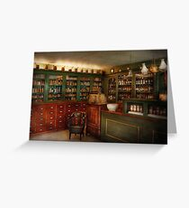 Pharmacy - Patent Medicine  Greeting Card