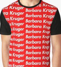 4be03bc16c59 Barbara Kruger Graphic T-Shirt