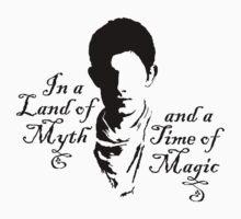Merlin Myth - black | Unisex T-Shirt